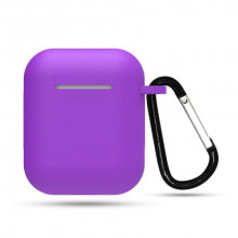 ObaStyle Silicone Case for Apple Airpods Series 1 & 2 Purple