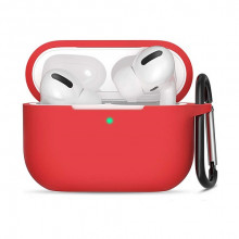 ObaStyle Silicone Case for Apple Airpods Pro Red