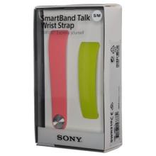 Sony SmartBand Talk Wrist Strap SWR310 M / L Pink / Lime Ανταλλακτικό Λουράκι