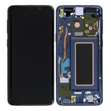 Original Coral Blue Touch Screen Digitizer LCD Assembly for Samsung Galaxy S9 SM-G960F (GH97-21696D) / Γνήσια Οθόνη LCD με Μηχανισμό Αφής Μπλε