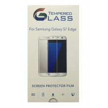Tempered Glass Screen Protector Gold for Samsung Galaxy S7 Edge / Προστατευτικό Γυαλί Οθόνης 9H 2.5D 0.3mm Premium HD