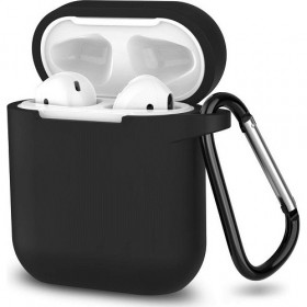 Silicone Case for Apple Airpods Series 1 & 2 OEM Black